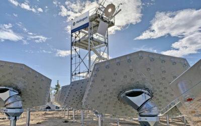 Energía solar puede dar un gran paso con espejos girasoles inteligentes